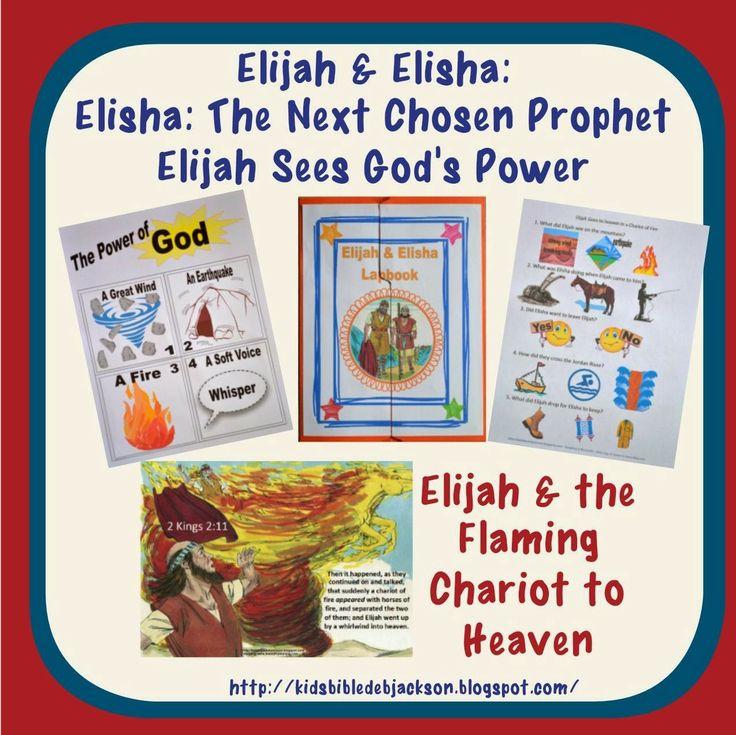 Bible Fun For Kids Elijah The Flaming Chariot To Heaven