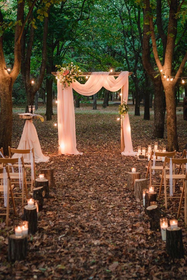 Decoración de boda de luces: 30 impresionantes fotos de boda