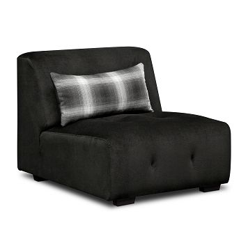 Montage Upholstery Armless Chair | Furniture.com $399.99