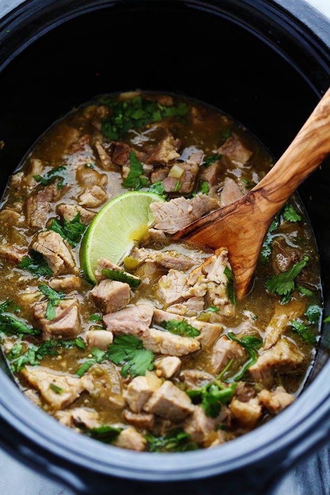 Slow Cooker Pork Chili Verde | The Recipe Critic
