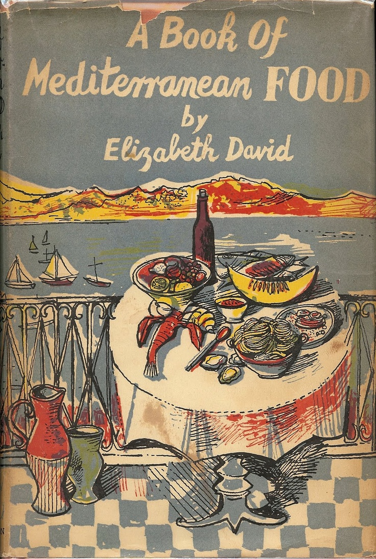 A book of Mediterranean Food - Elizabeth David