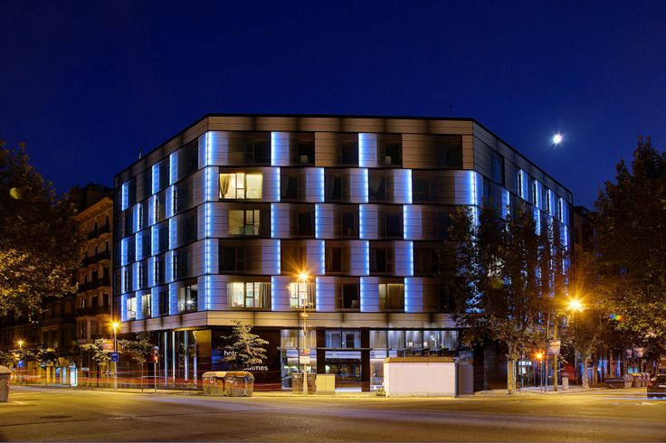 """Olivia Balmes Hotel inaugurated in the summer of 2013, is the first hotel in its class to receive the energy performance certificate """"A"""". A benchmark of sustainability in Barcelona."""