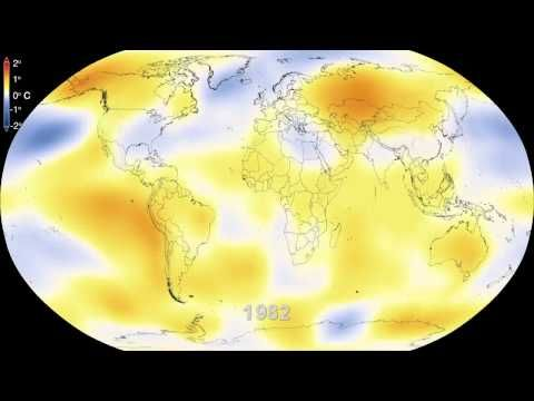 Watch 60 Years Of Climate Change In 15 Seconds