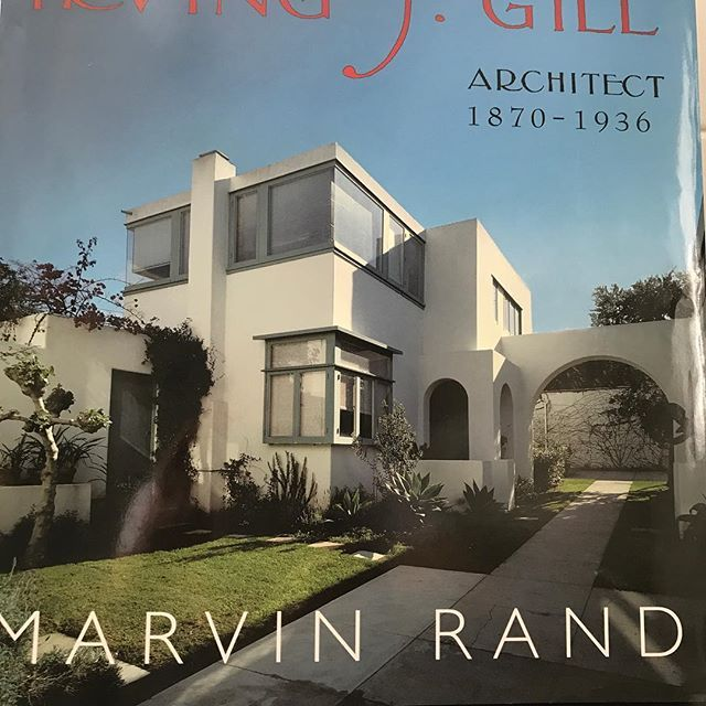 A great addition to anyone's architecture library.  I admire the work of Irving Gill as well as his progressive philosophy.  A fine illustration of how modernism can be vernacular.  #architecture #irvingjgill #californiaarchitecture #sandiego #modernarchitecture #sandiego #sandiegoconnection #sdlocals #sandiegolocals - posted by John Mahshie https://www.instagram.com/john_mahshie. See more post on San Diego at http://sdconnection.com