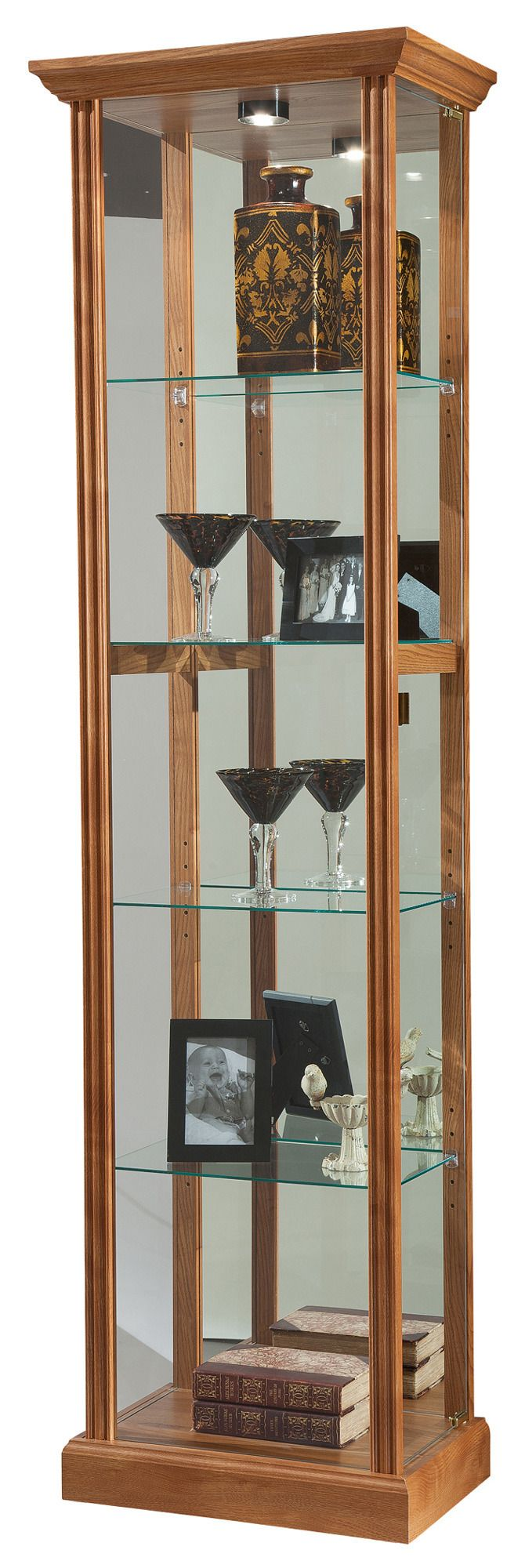 Eve II Curio Cabinet | Howard Miller | Home Gallery Stores
