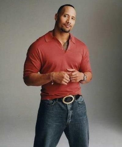 I think this looks GREAT.  The problem is, I think I need to have Dwayne Johnson's body to pull it off.