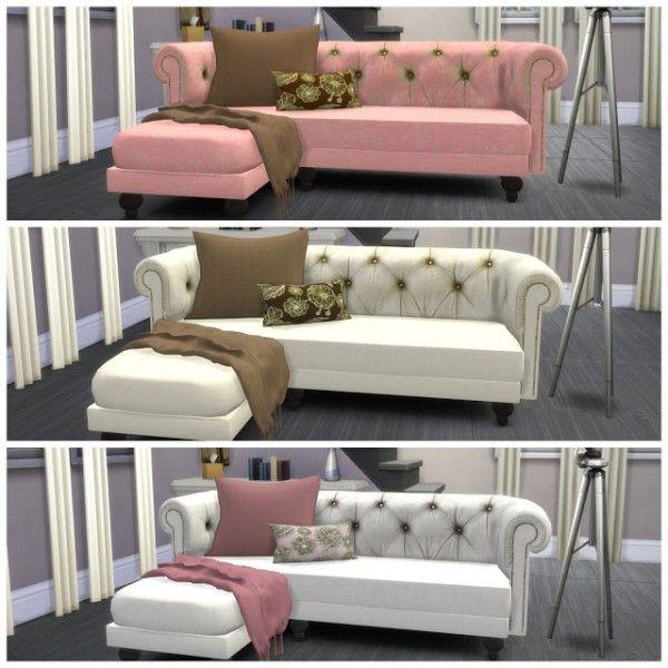 Canapé sims 4
