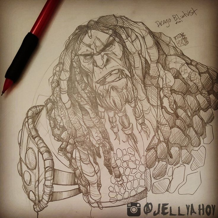 Drago Bludvist :: #001 by jellyahoy.deviantart.com on @DeviantArt