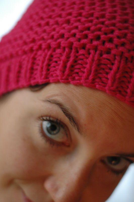 tuto bonnet au point mousse tout simple