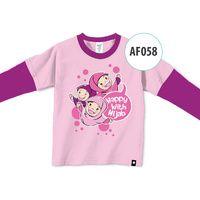 Kaos Afrakids AF058 - Happy with Hijab
