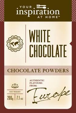 White Chocolate Chocolate Powder #yiah #chocolate