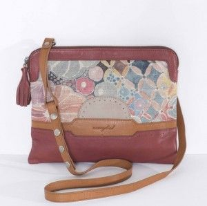 Nancybird Golf Crossbody Bag Rosewood