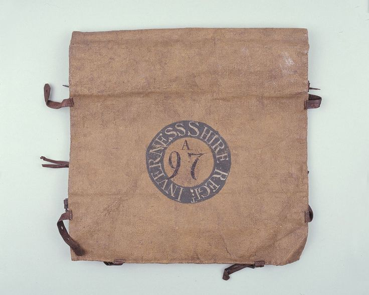 Knapsack belonging to a volunteer in the 97th Invernesshire Regiment, 1795 (c).