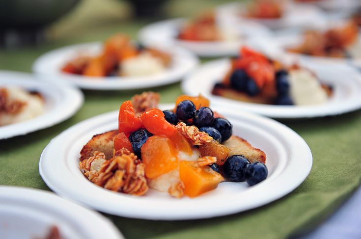 Grilled White Corn Cakes with Honey-poached Peaches and Nectarines ...