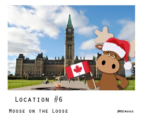 Know where #MDCmoose is? Enter the Moose on the Loose! Contest to WIN a Seagull Pewter ornament