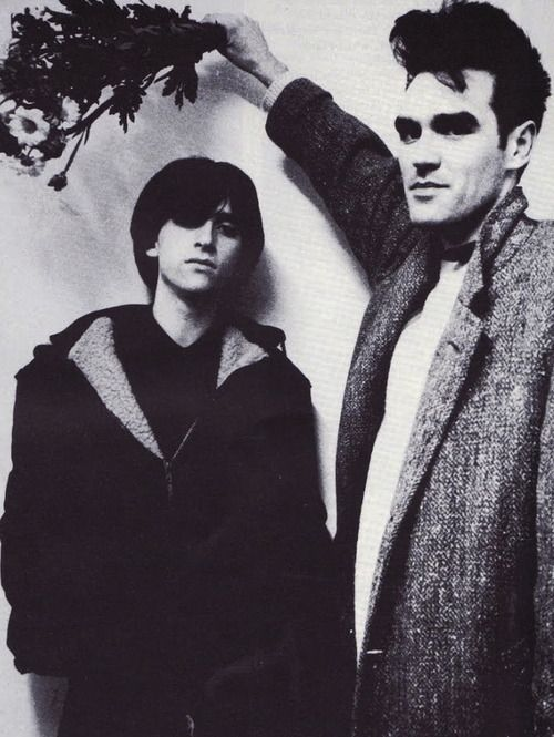 Johnny Marr and Morrissey, 1984