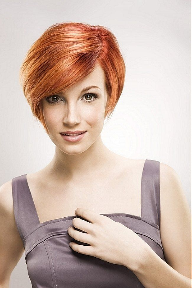 Bangs Hairstyles : Cute Bob Hairstyles With Side Swept Bangs For Short Straight… | Formal ...