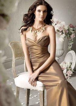 Gold Bridesmaid Dresses photo 5