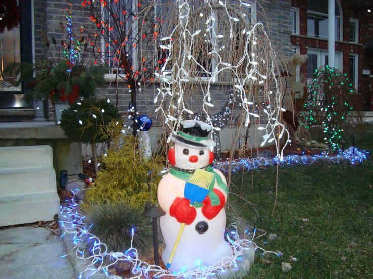 Classic Christmas snowman