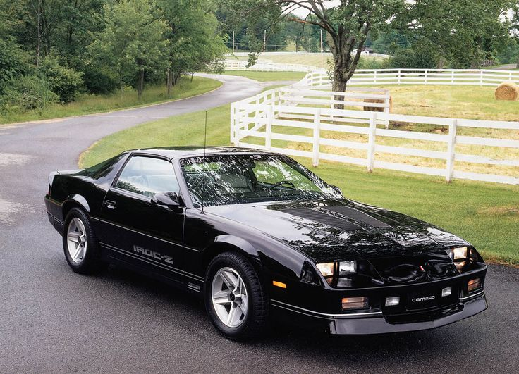 My best friend's mother owned a white one :)  1987 Chevrolet Camaro IROC Z/28