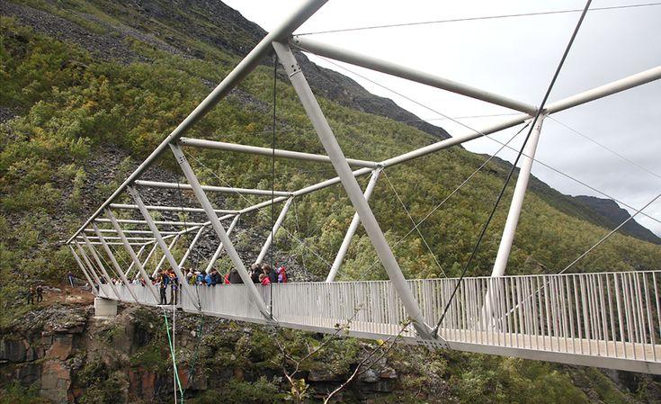 Puente peatonal Sabetjohk, Birtvarre, Noruega, - Ghilardi+Hellsten Arkitekter
