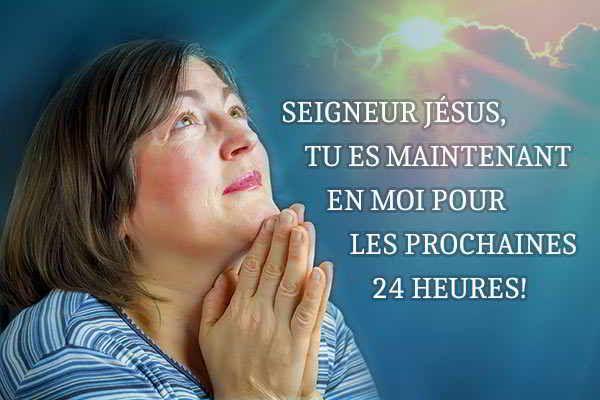 Cher ami(e) de Jésus, je t'invite à réciter cette puissante prière du matin à ton réveil ou avant d'aller travailler afin que Dieu s'empare de toi pour...