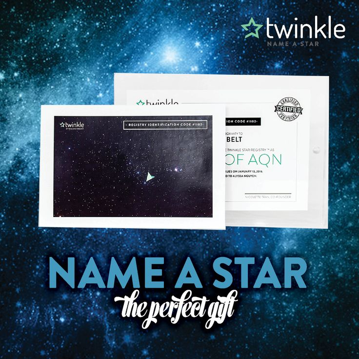 Astronomy gifting at its finest name a star and receive
