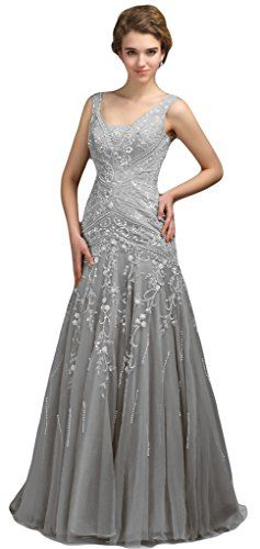 Ubridal Y Mermaid Embroidery Lace Beading Tulle Prom Evening Dresses Http Www 25th Wedding Anniversarylace