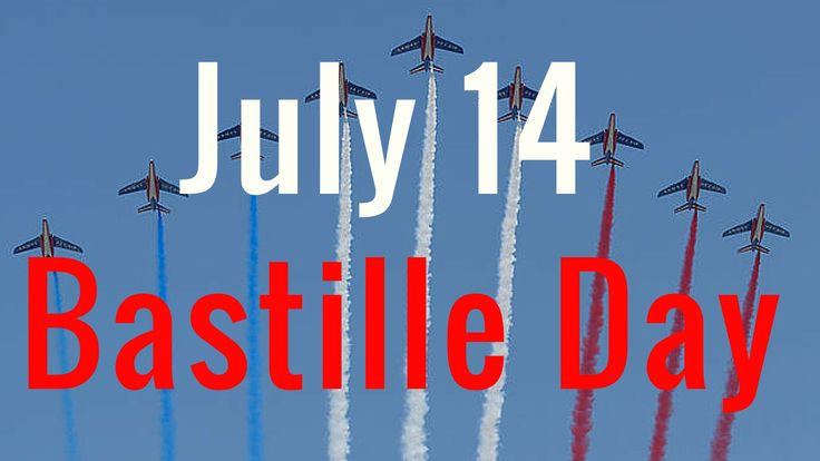 What is Bastille Day (July 14 in France) in less than 3 minutes On July 14, the French people celebrate not one, but two big events in French History! Find out which events and also how the French celebrate this special day every year ^^