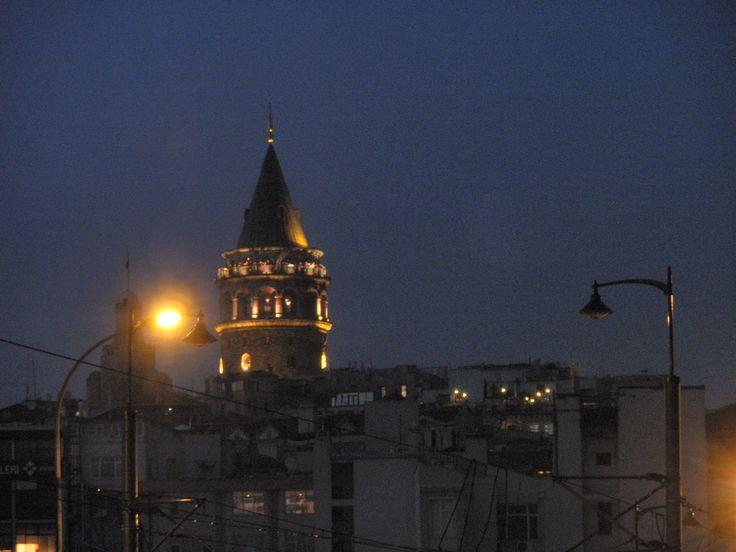 galata tower,istanbul..