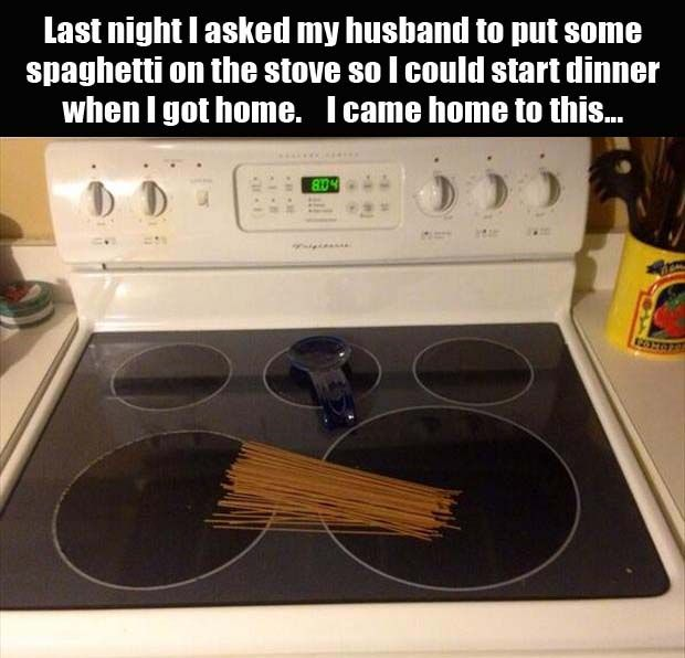 Who Says Husbands Aren't Helpful?