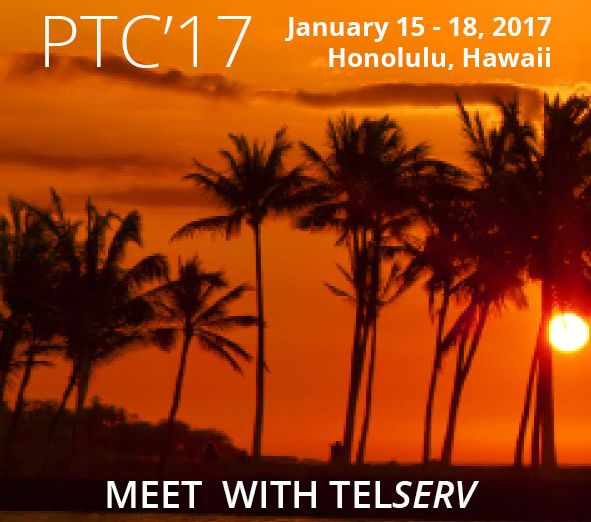 Meet with Tel<i>Serv</i> at PTC '17!