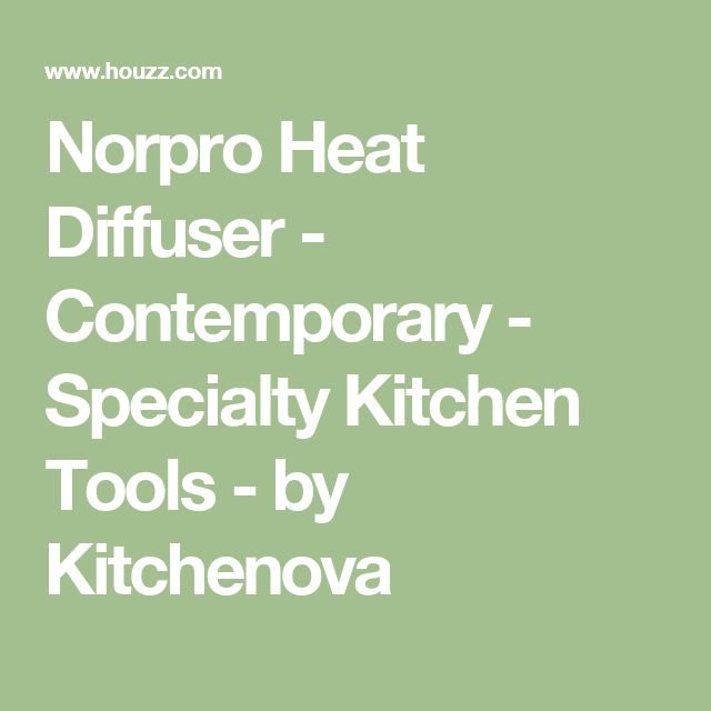 Norpro Heat Diffuser - Contemporary - Specialty Kitchen Tools - by Kitchenova