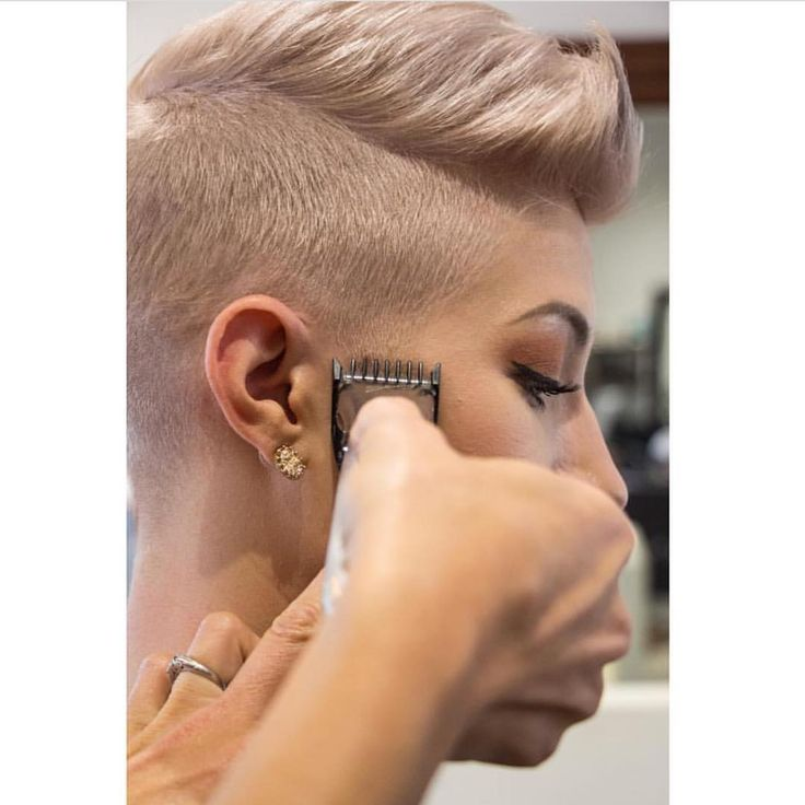 "446 Likes, 13 Comments - SHORT HAIR INSPIRATION  (@chopitoff) on Instagram: ""❤️ @krissyfoncoux #pixie #shorthairdontcare #chopchop #hair #haircut #bigchop #barber #salon…"""
