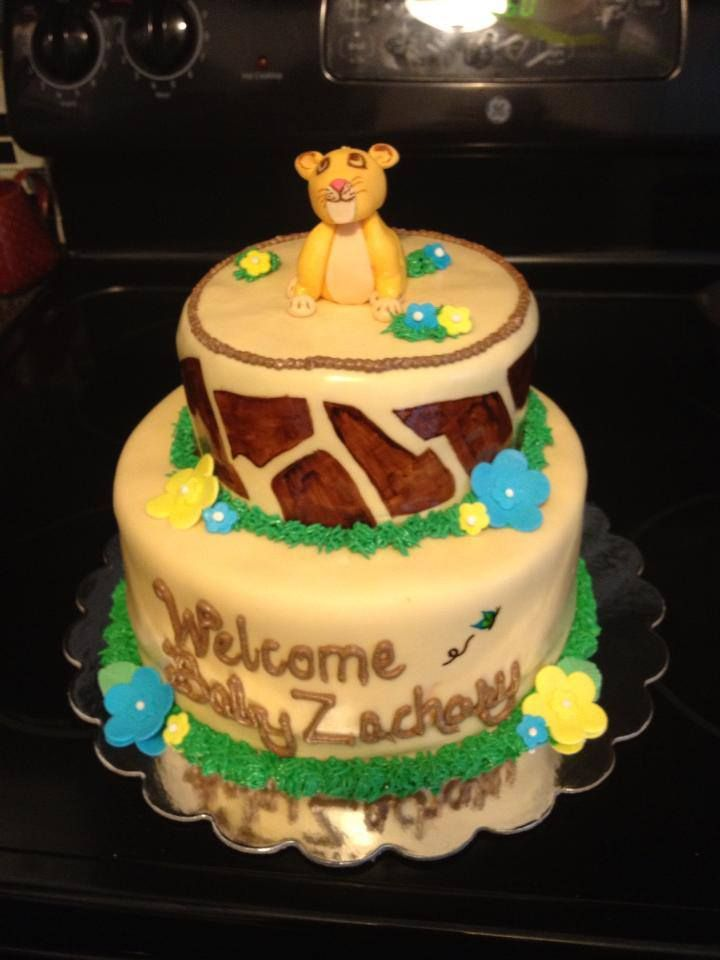my lion king baby shower cakebaby shower cakes shower baby lion king