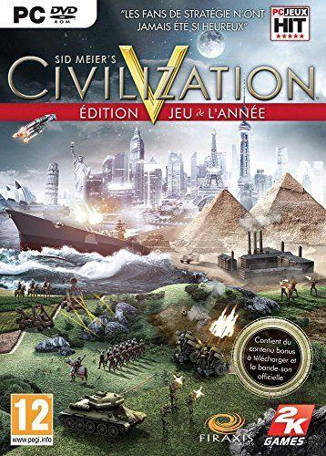 Sid Meier's Civilization V est le cinquième opus de la célèbre série de jeux de stratégie Civilization, qui compte parmi les plus prestigieuses jamais créées et qui a été récompensée à maintes reprises, notamment pour la qualité de son gameplay. Dans Civilization V, vous devez asseoir votre suprématie totale sur le monde en constituant une civilisation depuis ses premiers pas et en la guidant avec brio à travers les âges et les difficultés : encourager la conquête spatiale, participer aux…