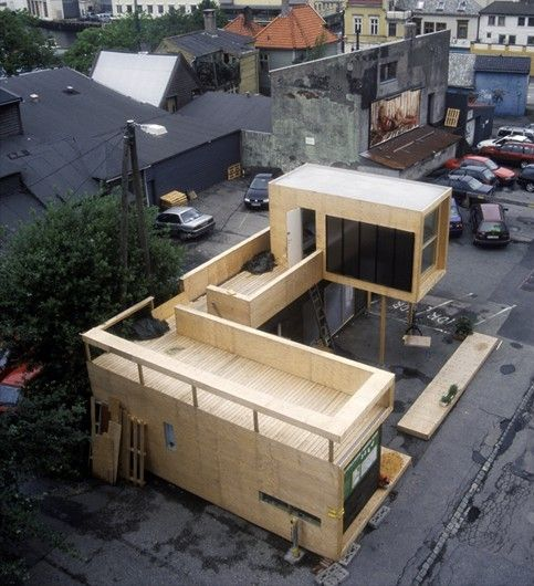 Brakke House. Bergen, Norway  This idea inspires: www.kubikcontainers.com.au