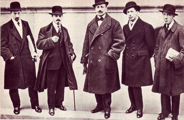 Italian Futurism - Russolo, Carrà, Marinetti, Boccioni, Severini.