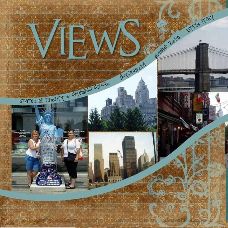 NYC City Views - right side - Scrapbook.com, good for Boston pic