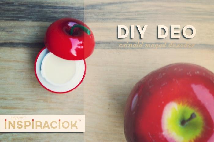 Természetes kozmetikumok: dezodor házilag