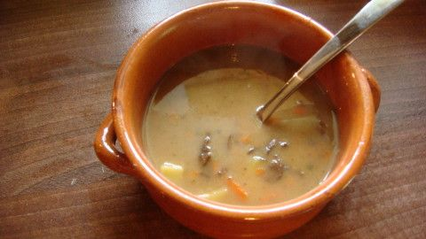 Bramboračka s houbami - Powered by @ultimaterecipe