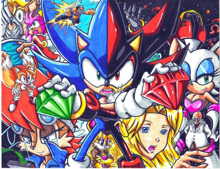 And shadow on pinterest shadows deviantart and sonic the hedgehog