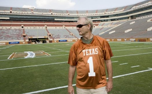 Bill Murray + Texas Longhorns + football