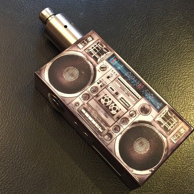The BOOMBOX - Vape - Vaping - Dampfen - Dampfe - e-zigarette - ecig - mechanical Box Mods - Dripper - Cloud Chaser