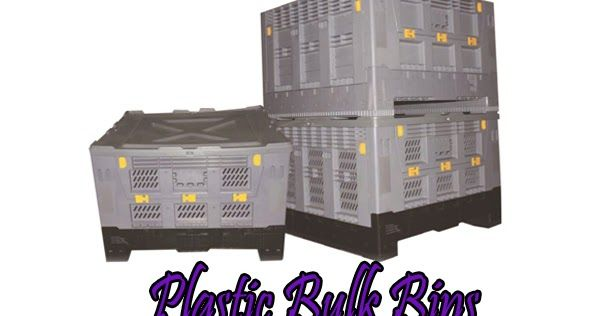 Plastic Pallet   Plastic Containers: The Benefits of Using Plastic Bulk Bins for Transportation