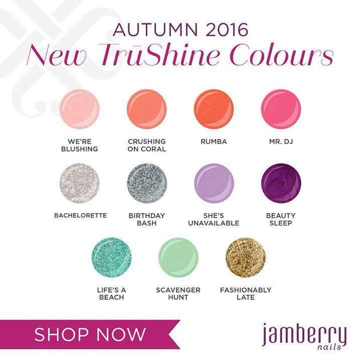 New TruShine Autumn Colours  #JamberryJN