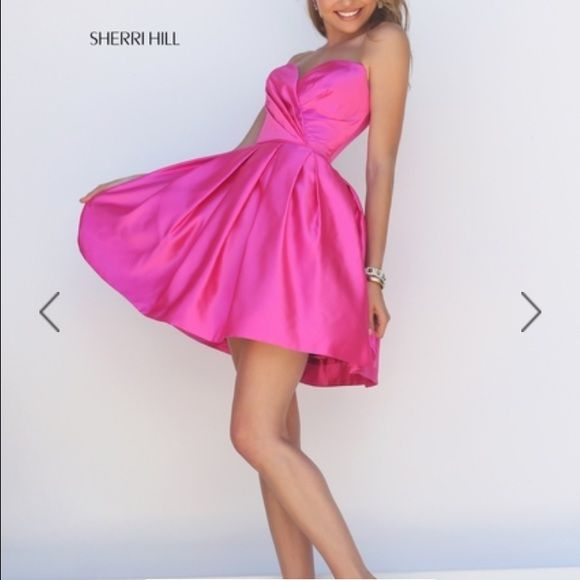Sherri Hill Spring 2016 Size 6 short Sherri Hill dress paid $300. Worn once, perfect condition! Sherri Hill Dresses Prom