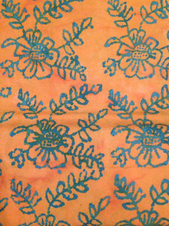 Yellow and blue batik fabric by the yard. Quantity 1 = 1 yard Width 43/44 100% cotton Marshall Dry Goods Item #1501 Dont forget to fill up your flat rate envelope!!! Whether youre buying 3 or 8 yards of fabric the shipping is same, so fill up your shipping envelope and save money!!! Be sure to check out the fabric SALE section in my Etsy shop. Follow me on Facebook and Instagram for coupon codes and flash sales! ~ www.facebook.com/TheBlueSheepBoutique ~ www.instagram.com...