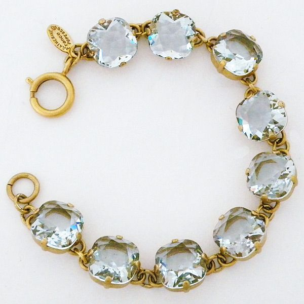 Catherine+Popesco+Bracelet | Stormy Sea Chunky Crystal Bracelet