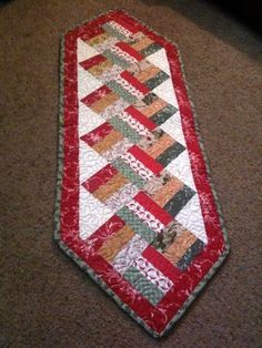 Split Rail Christmas Runner